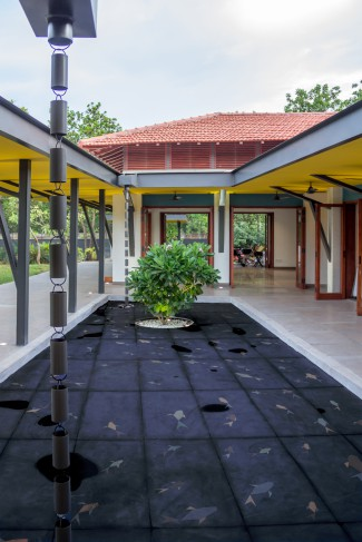 Courtyard House, Alibaug, Parallax Design Studio, open-to-sky, traditional.