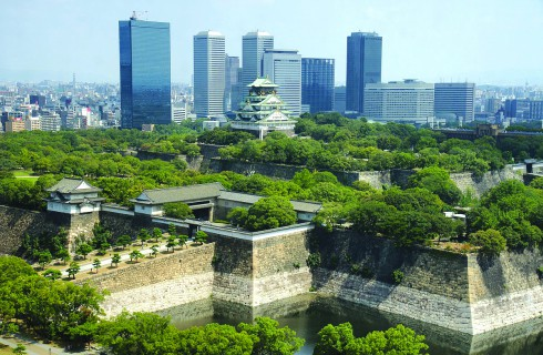 Osaka, Japan, Honshu, Japanese aesthetic, The Ritz-Carlton, Osaka Castle.