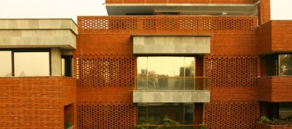 The Ridge House, Amit Khanna Design Associates, Aravalli Mountains, Delhi.