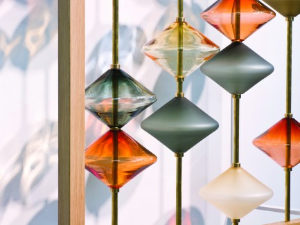 Jeff Goodman Studio, glass artist, Canada, handmade installations, lighting, vessels, architectural glass.