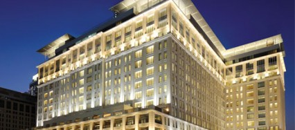 The Ritz-Carlton, Dubai, Gensler, branch light sculpture, Art Deco, Art Nouveau, Lasvit.