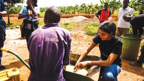 Earth Enable, Rwanda, earthen floors, The Mass Design Group, sustainable floors.