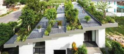 Vo Trong Nghia Architects, Hoan House, Vietnam, sustainable development