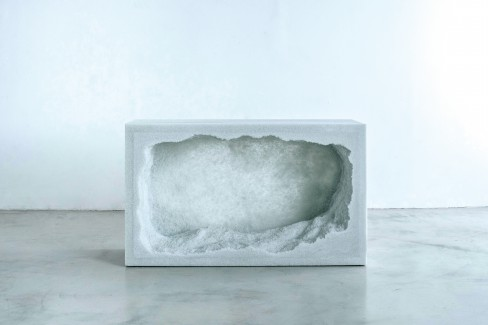 Fernando Mastrangelo, Brooklyn, Medallion series, sand, Drift, Escape, Thaw, Ghost.