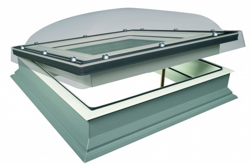 Fakro, insulation, convergence of temperature, roof window, U-values, FTT U8 Thermo, Thermo flashing, thermally insulated frame.