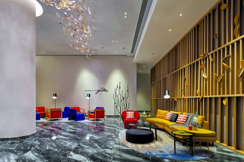 Urban Hotel, Singapore, Little India, Serangoon, Vibrant colours, smart ambience, local touch.