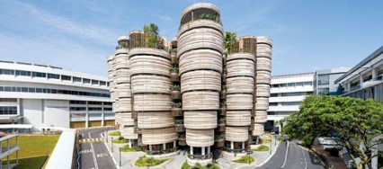 Nanyang Technological University, Singapore, Heatherwick Studio, London, Thomas Heatherwick, sustainable design.