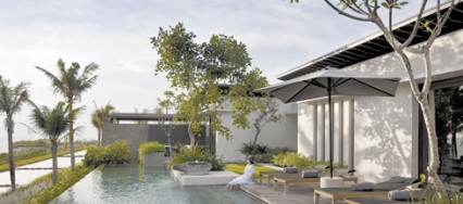 Design Hotels, Alila Villa Soori, Bali, Indonesia, Tanah Lot Temple, Greg Norman golf course, SCDA Architects.