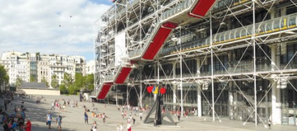 Centre Georges Pompidou, Richard Rogers, Beaubourg, Museum of Modern Art, Renzo Piano, Institute for Contemporary Music.