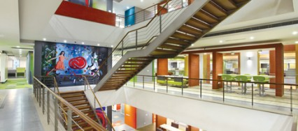 Green architecture, The Research and Development Center for Adobe System, SWBI Architects, Noida, Delhi.