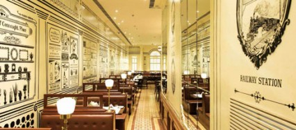Smoke House Deli, Mumbai, Saheba Singh, This Is It Designs, old Connaught Place, architectural facades.