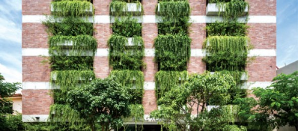 The Atlas Hotel, Vietnam, Vo Trong Nghia Architects, sustainability, green architecture.